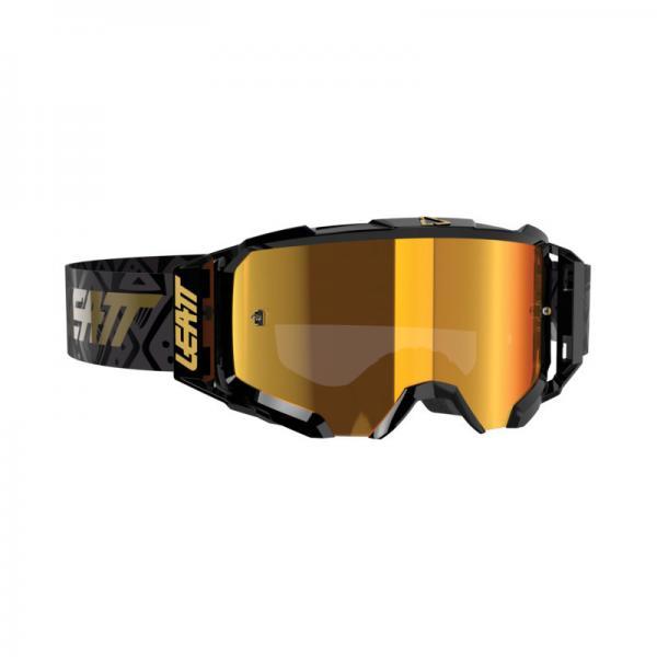 Brille Velocity 5.5 Iriz schwarz-bronze verspiegelt