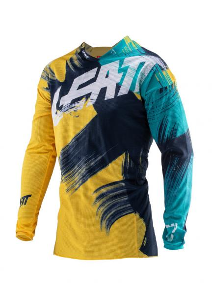 MX Jersey GPX 4.5 Lite gold-teal XL