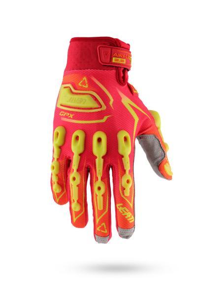 Handschuhe GPX 5.5 Lite rot-gelb
