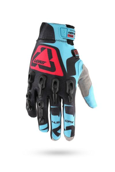 Handschuhe GPX 4.5 Lite schwarz-blau-rot XL