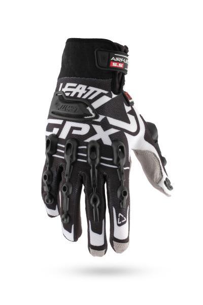 Handschuhe GPX 5.5 Windblock schwarz-weiss