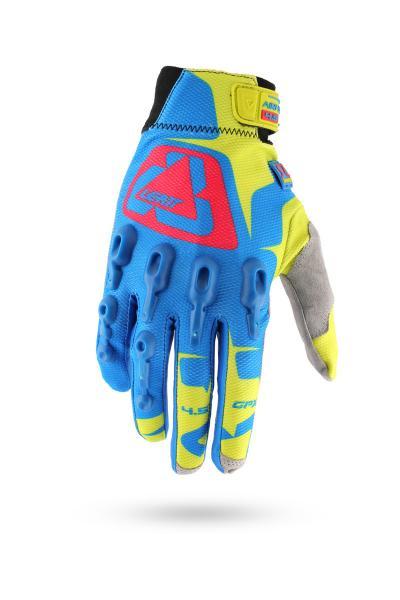 Handschuhe GPX 4.5 Lite blau-gelb-rot
