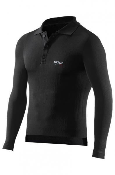 Funktions Polo-Shirt POL2 schwarz