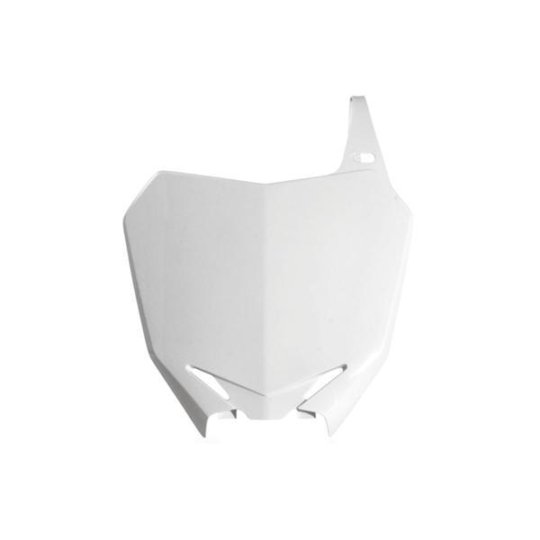 Acerbis Startnummerntafel Weiß, Suzuki RM 85 00-14