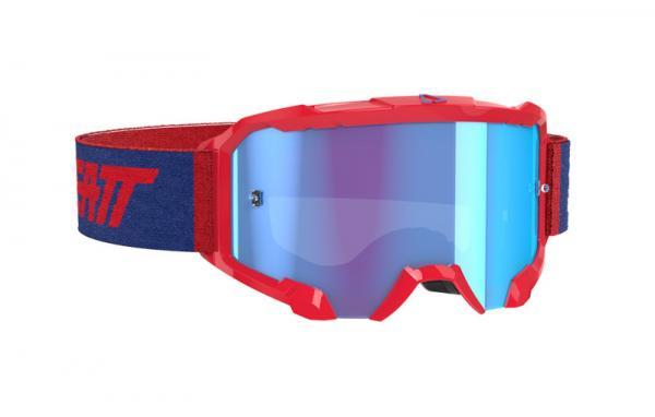 Brille Velocity 4.5 rot-blau