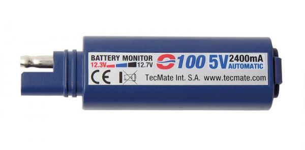 USB-Ladegerät mit SAE-Stecker