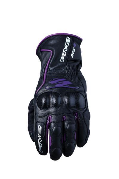Handschuhe RFX4 Damen schwarz-violett