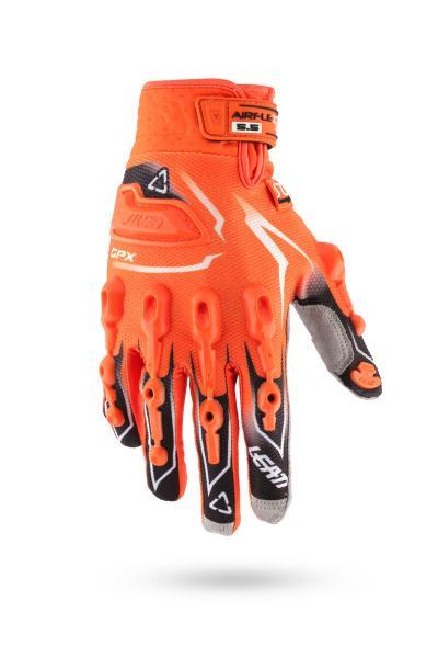 Handschuhe GPX 5.5 Lite orange-schwarz-weiss