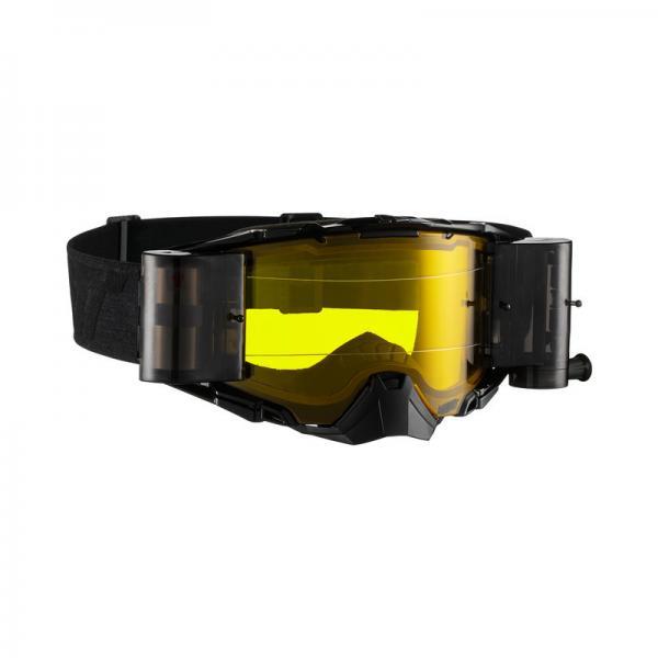 Brille Velocity 6.5 Roll-Off schwarz-grau