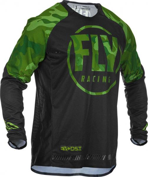 Fly Racing Hemd Evolution DST grün-schwarz