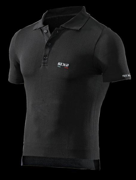 Funktions Polo-Shirt POL1 schwarz