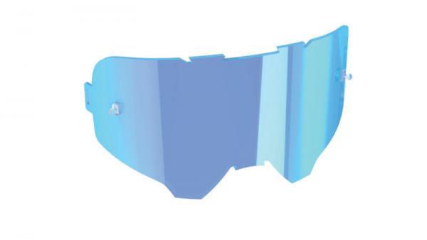 Linse Iriz blau versp. 49% Lichtdurchlässigkeit