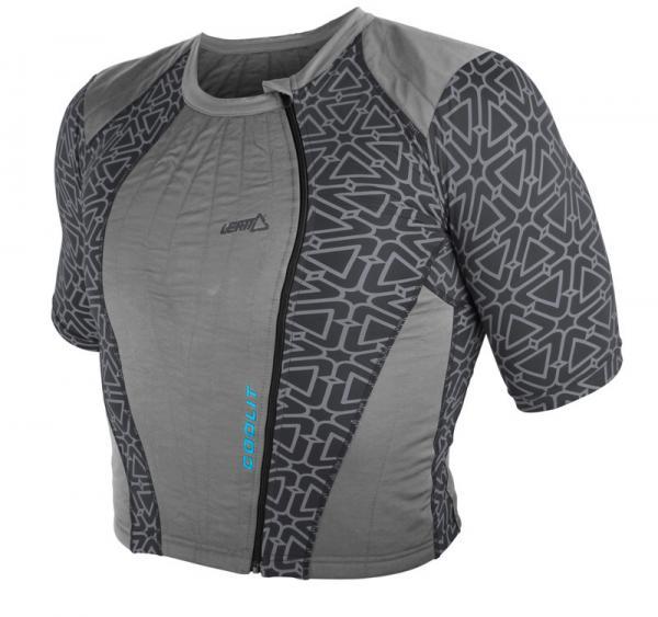 LEATT Kühl-T-Shirt Coolit grau 2XS Junior