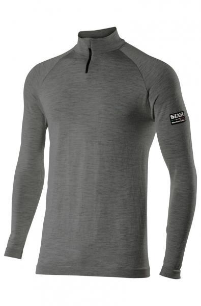 Funktions T-Shirt TS13 Merino anthrazit