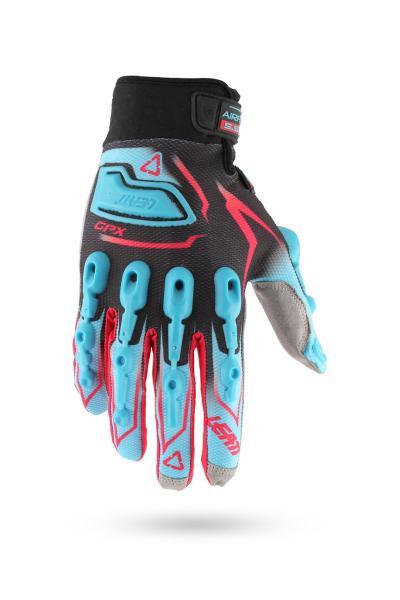 Handschuhe GPX 5.5 Lite blau-rot-sw