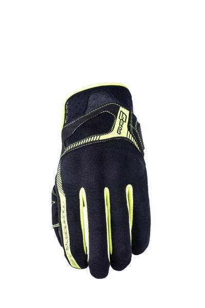 Handschuhe RS3 schwarz-gelb fluo