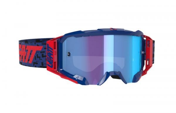 Brille Velocity 5.5 Iriz royal-blau verspiegelt