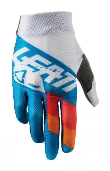 Kinder Handschuhe 3.5 Junior blau-weiss M