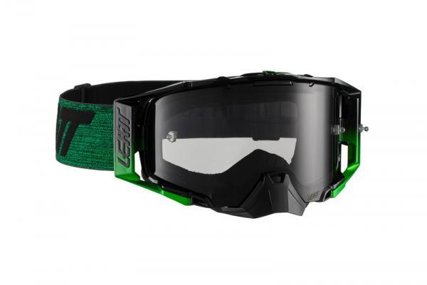 Brille Velocity 6.5 schwarz-grün getönt
