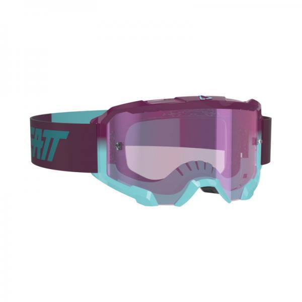 Brille Velocity 4.5 Iriz aqua-lila verspiegelt