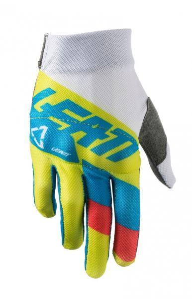 Kinder Handschuhe 3.5 Junior lime-weiss M