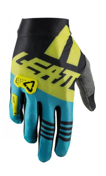 Handschuhe GPX 2.5 X-Flow schwarz-lime