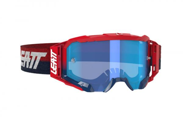 Brille Velocity 5.5 rot-blau