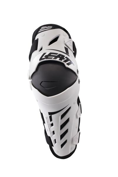 Knie Protektor Dual AXIS weiss-schwarz