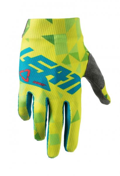 Handschuhe GPX 1.5 Junior lime-teal M