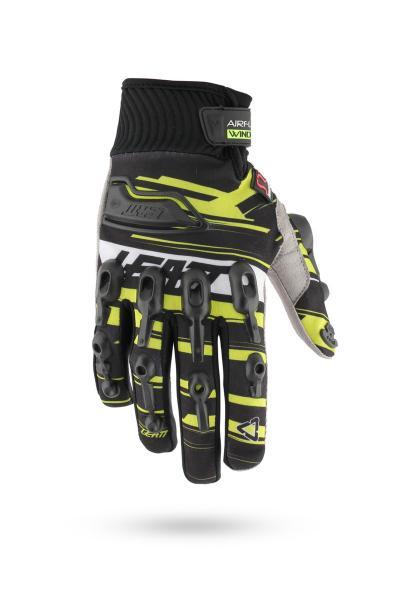 Handschuhe AirFlex Wind schwarz-gelb