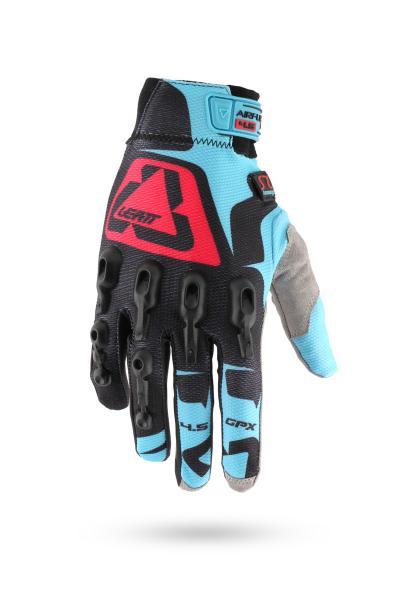 Handschuhe GPX 4.5 Lite schwarz-blau-rot