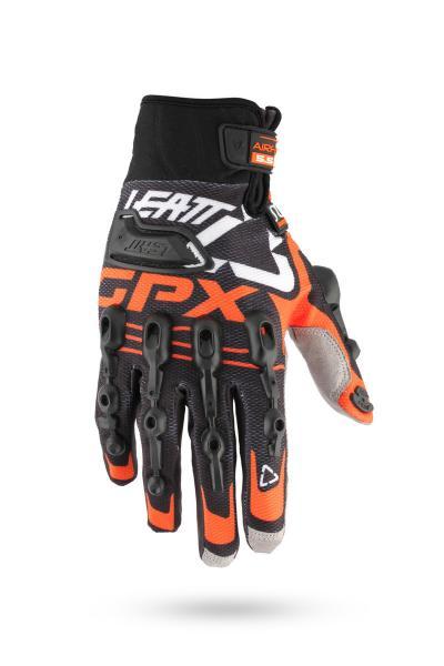 Handschuhe GPX 5.5 Windblock schwarz-orange