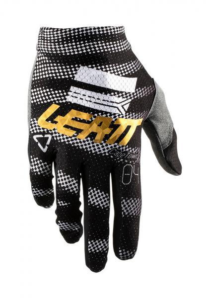 Handschuhe GPX 1.5 GripR schwarz-weiss-gold