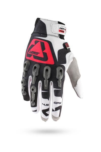 Handschuhe GPX 4.5 Lite weiss-rot-schwarz