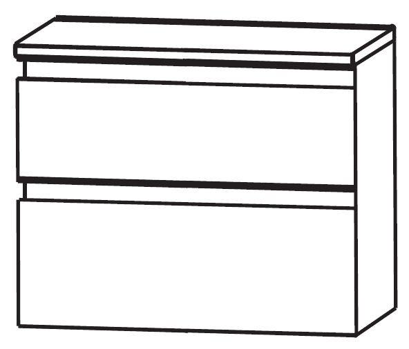 Puris Ace Bad-Unterschrank 60 cm breit UNA366A01