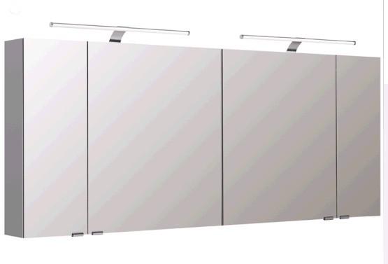 Pelipal Spiegelschrank 170 cm S5-SPSD 32 - Neutraler Spiegelschrank