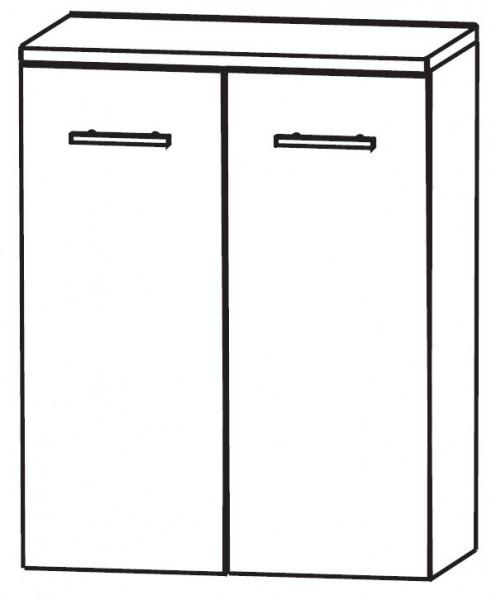 Puris Linea Bad-Highboard mit Wäschekippe 60 cm breit HBA416W01