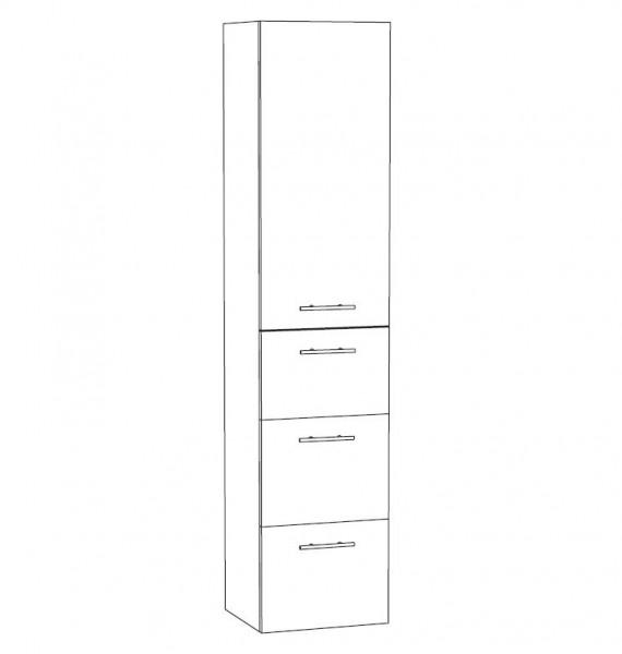 Marlin Bad 3100 - Scala Bad-Hochschrank 40 cm breit HTAAA4