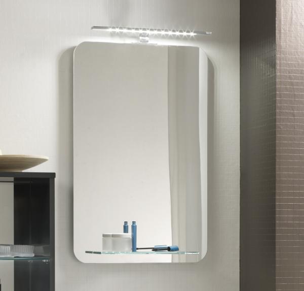 Pelipal Solitaire 6900 Badspiegel mit Glasablage 46 cm breit NT-SP 02