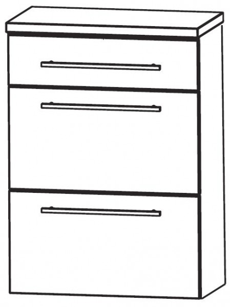 Puris Crescendo Bad-Highboard 60 cm breit HBA566A7M