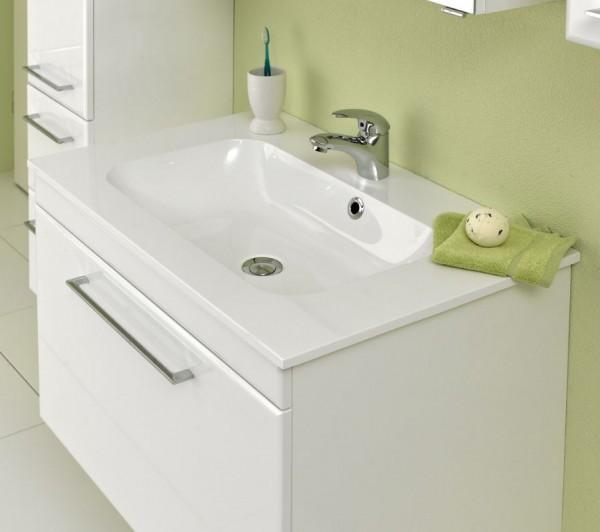 Pelipal 376 Seo White - Waschtisch mit Unterschrank 77 cm