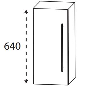 Puris Protection1 - Oberschrank OGA4130 L/R / 30 oder 40 cm