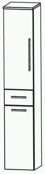 Puris Classic Line Bad-Hochschrank mit Wäschekippe 40 cm breit HNA054A7W