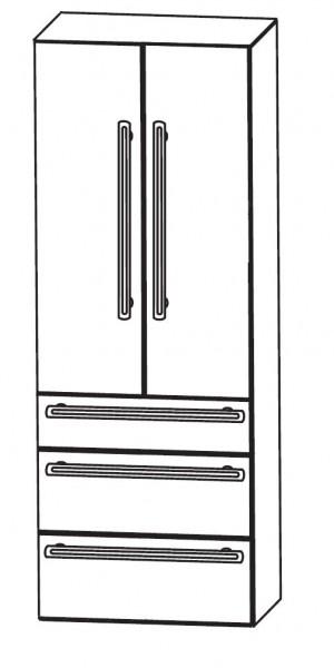 Puris Brillant Bad-Hochschrank 60 cm breit HNA096001