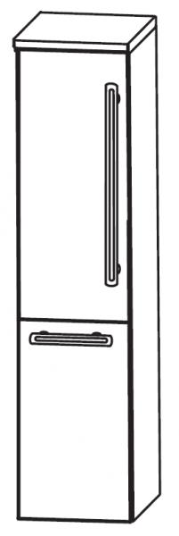 Puris Brillant Bad-Mittelschrank 30 cm breit MNA8330A1