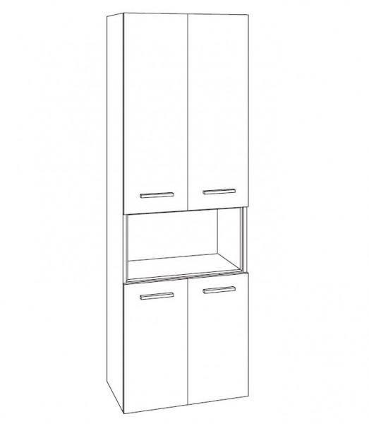 Marlin Bad 3250 Bad-Hochschrank 60 cm breit HTET6