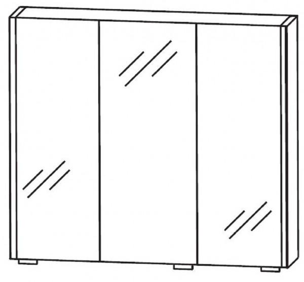 Puris Linea Bad-Spiegelschrank 70 cm breit S2A437079
