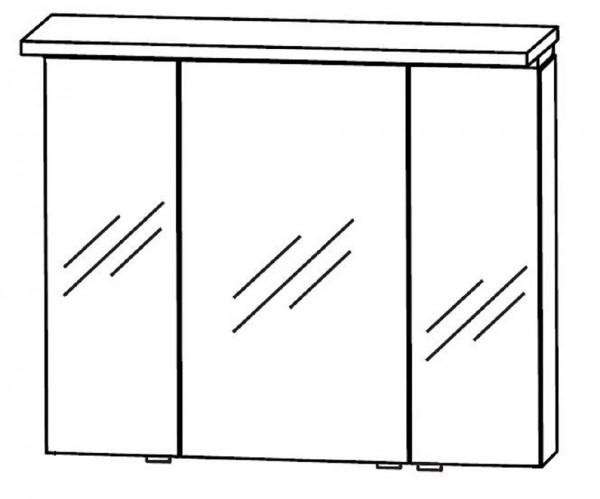 Puris Swing Spiegelschrank 90 cm breit SET43902