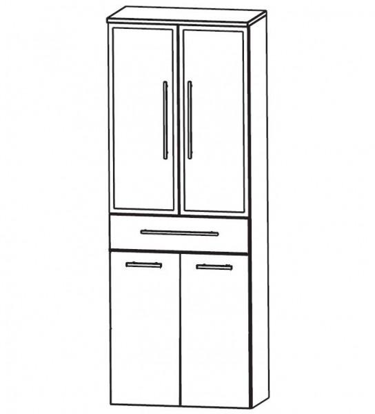 Puris Classic Line Bad-Hochschrank mit Wäschekippe 60 cm breit HNA056B7W