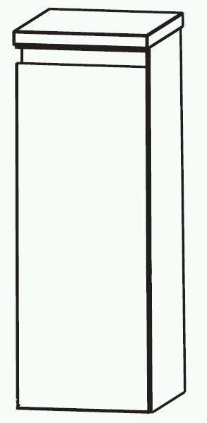 Puris Variado 2.0 Bad-Highboard 30 cm breit HBA513A7